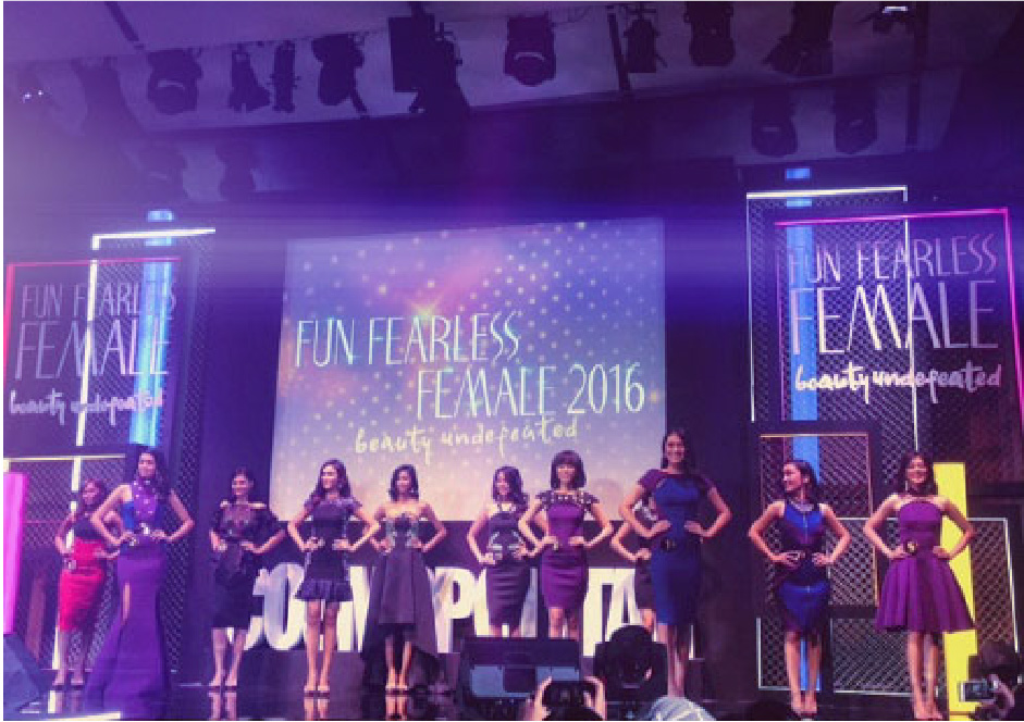 FUN FEARLESS FEMALE 2016 BY COSMOPOLITAN