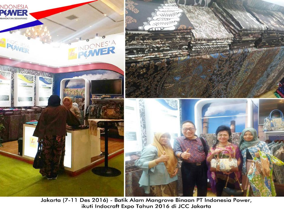 INDONESIA POWER – INDOCRAFT 2016 – ZIE BATIK